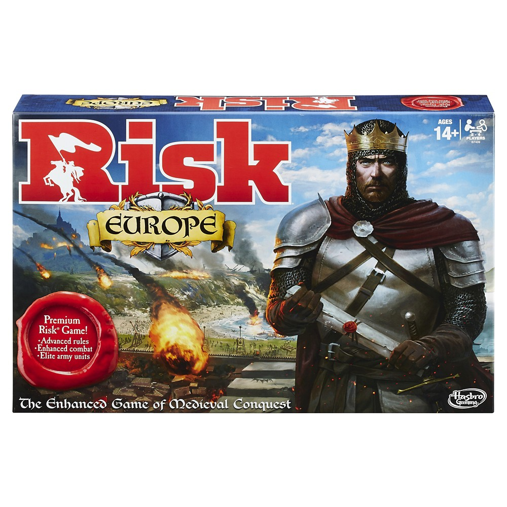 Risk Europe Version Board Games