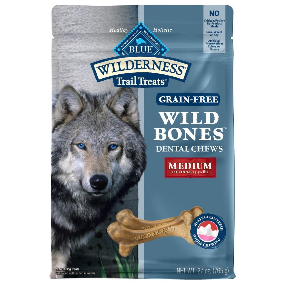 Blue Buffalo Wilderness Bones Regular Dog Treats 27oz