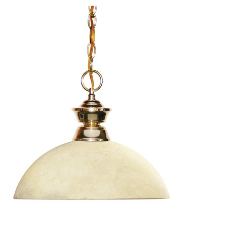 Pendant with Golden Mottle Glass Ceiling Lights - Z-Lite - image 1 of 1