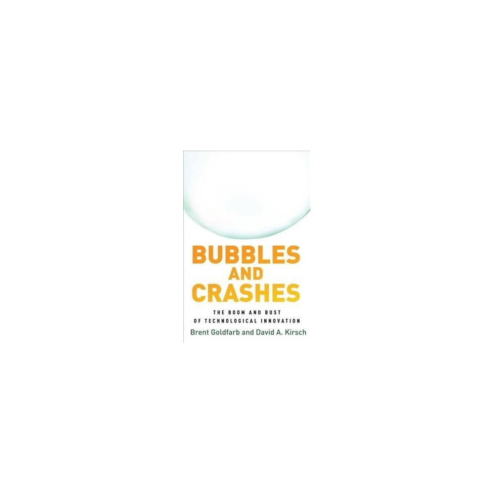 Bubbles and Crashes : The Boom and Bust of Technological Innovation - (Hardcover)