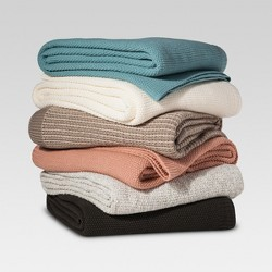 Sweater Knit Bed Blanket - Threshold™