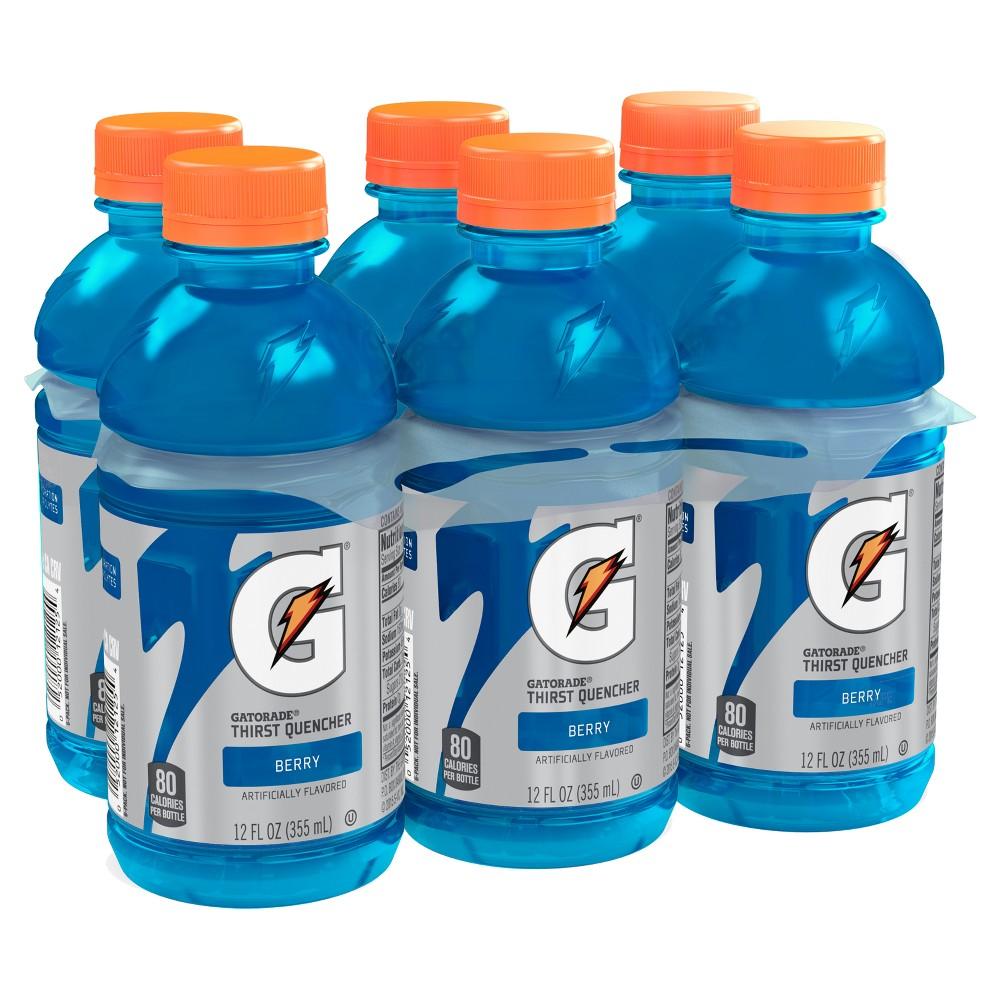 Gatorade Berry Sports Drink - 6pk / 12 fl oz Bottles
