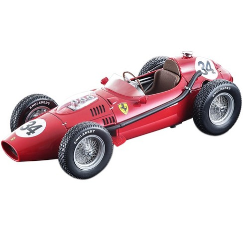 Ferrari Dino 246 #34 L. Musso 2nd Place F1 Monaco GP 1958 Mythos Series Ltd Ed 100 pcs 1/18 Model Car by Tecnomodel - image 1 of 1