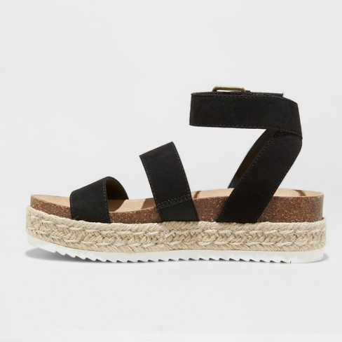 afa7ec824ca Women s Agnes Quarter Strap Espadrille Sandals - Universal Thread™   Target