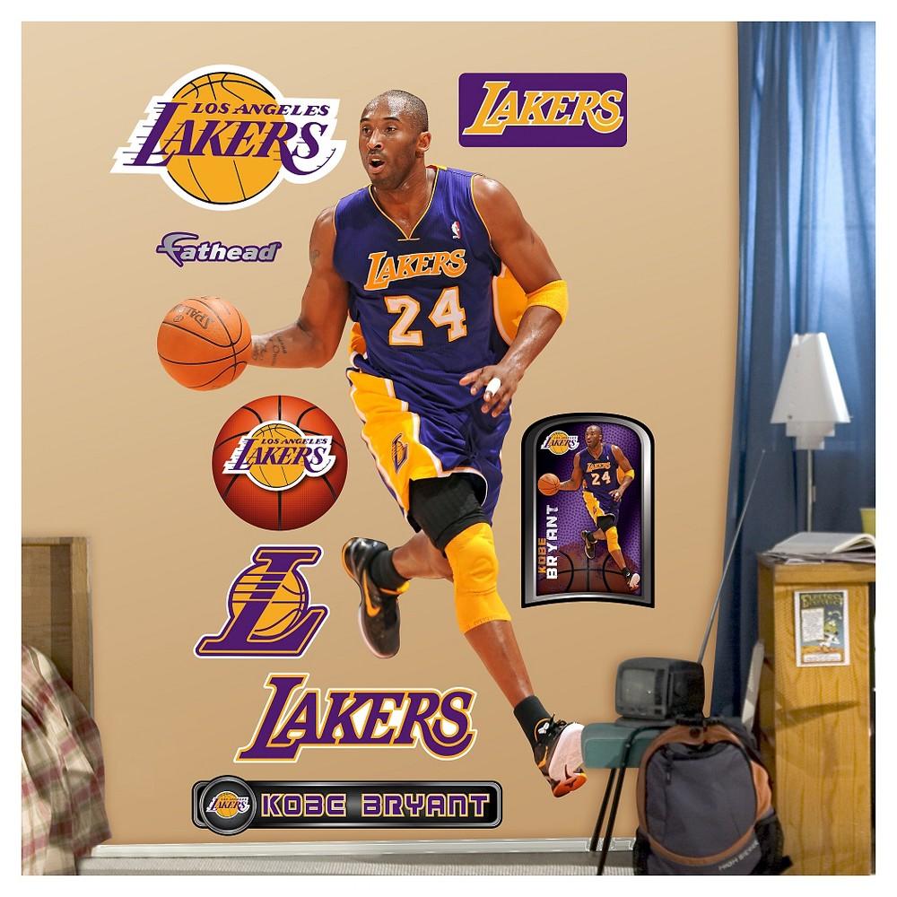 Los Angeles Lakers Fathead Decorative Wall Art Set - 52x4