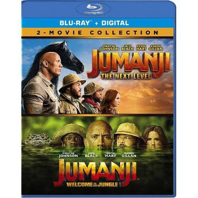 Jumanji: The Next Level / Jumanji: Welcome To The Jungle (Blu-ray + Digital)
