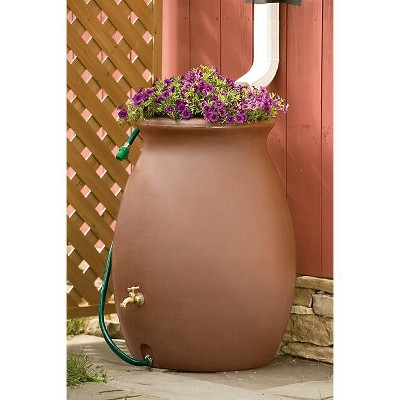 Rainwater Urn, 50 Gallon - Gardener's Supply Co.