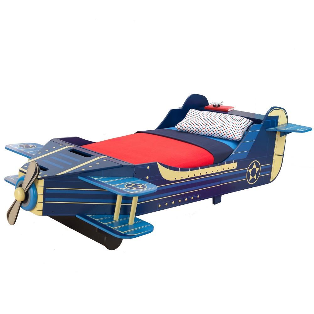 Image of KidKraft Airplane Toddler Bed