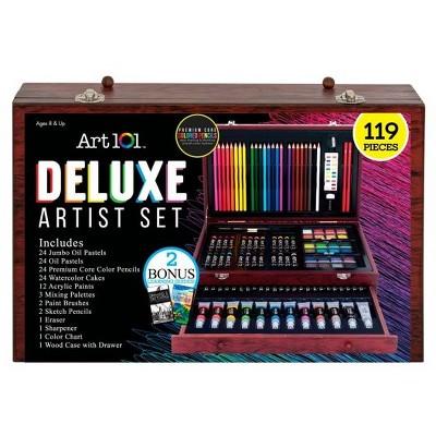 Art101 Deluxe Art Set - 119pc