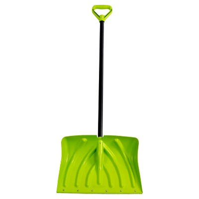 Suncast 18  Combo Shovel with Wear Strip - Lime
