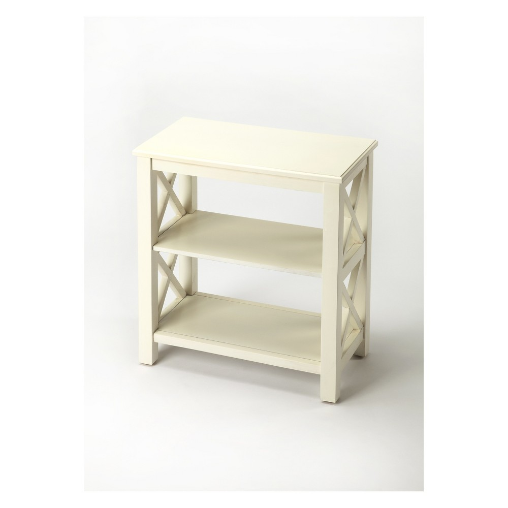 25 Vance Bookcase Cottage White - Butler Specialty