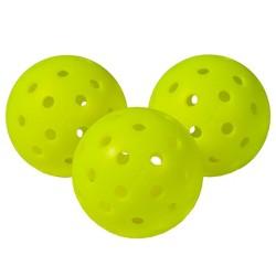 Franklin Sports Professional Pickle Balls 3pk - Optic Yellow