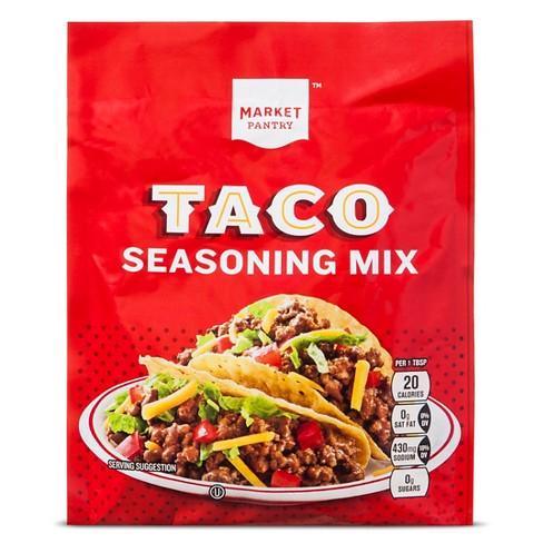 Taco Seasoning Mix 1.25 oz - Market Pantry™ - image 1 of 1