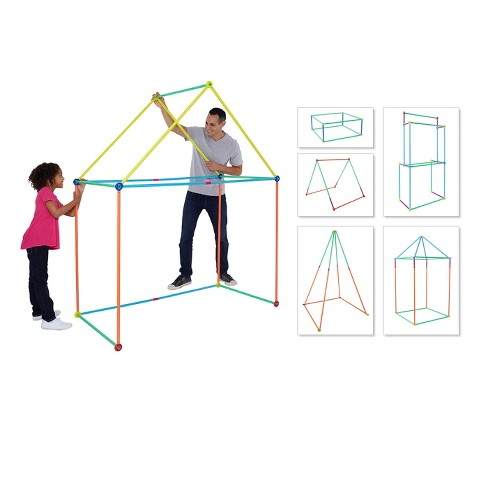 Antsy Pants™ Medium Build & Play Kids Playhouse Kit - 81pc - image 1 of 13
