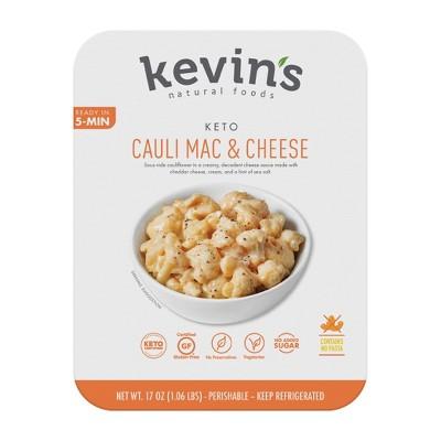 Kevin's Natural Foods Gluten Free Cauliflower Mac & Cheese - 17oz