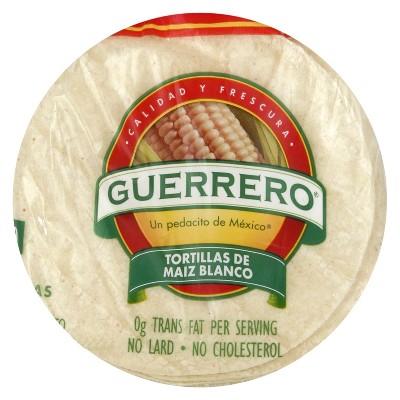 Guerrero Gluten Free White Corn Tortillas - 25oz/30ct