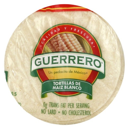 Guerrero Gluten Free White Corn Tortillas 25oz 30ct Target