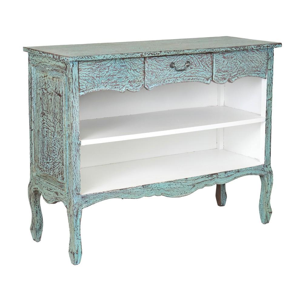 35 Lanoka Mahogany Bookcase Green - East At Main