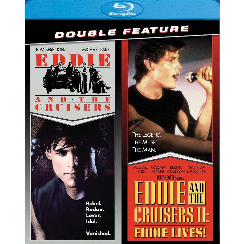 Eddie And The Cruisers/Eddie And The (Blu-ray)