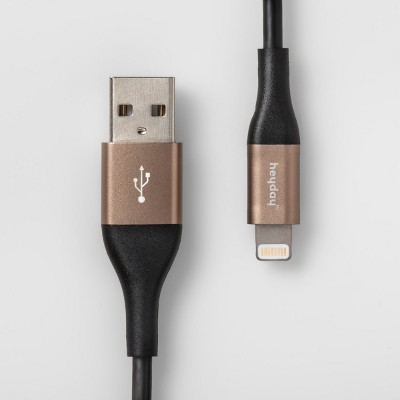 heyday™ 6' Lightning to USB-A Round Cable