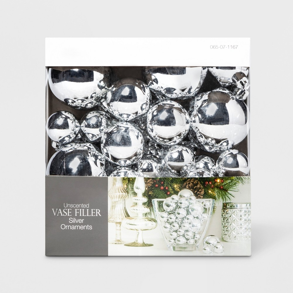 Vase Filler Ornaments - Silver - Lloyd & Hannah