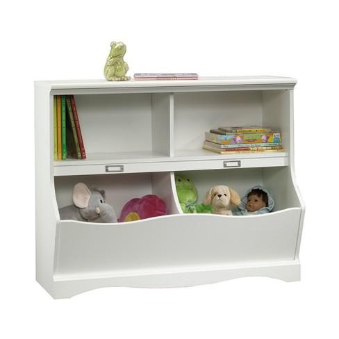 Sauder Pogo Bookcase Footboard Soft White Finish Target