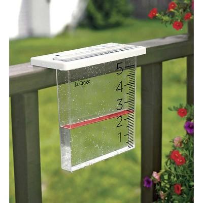 Wind & Weather The Waterfall Rain Gauge by La Crosse Technology»
