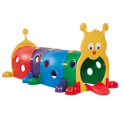 ECR4Kids GUS Climb-N-Crawl Caterpillar Indoor/Outdoor Play Structure for Kids
