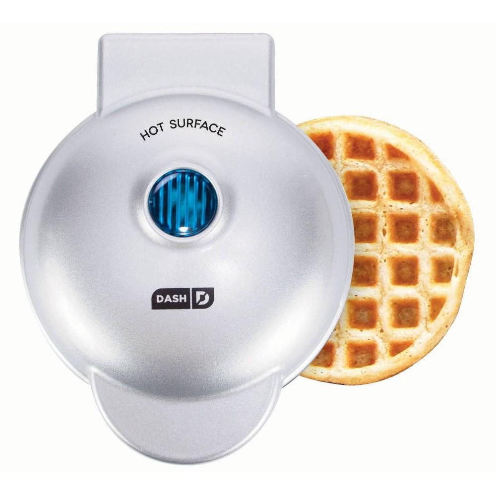 Dash® Mini Waffle Maker in Silver