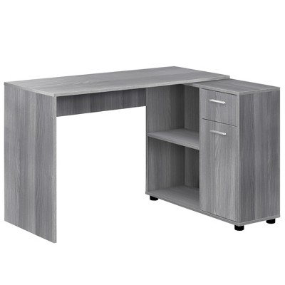 "60"" Computer Desk with Storage Cabinet - EveryRoom"