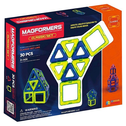 Magformers 30 PC Classic Set - image 1 of 4