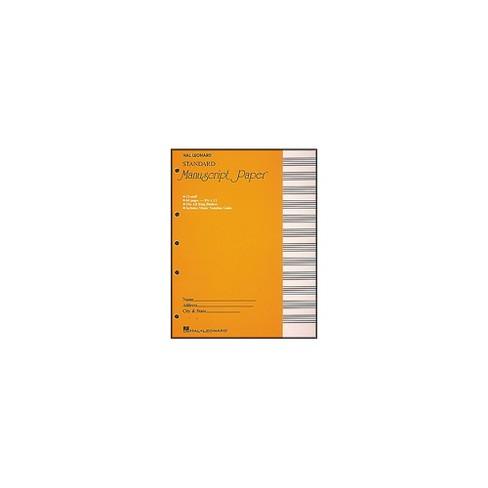 "Hal Leonard Standard Manuscript Paper (8 1/2"" x 11"") - image 1 of 2"