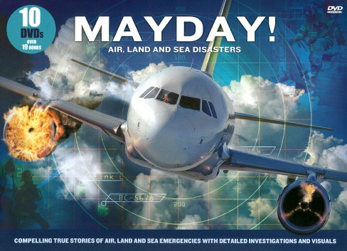 Mayday!: Air, Land and Sea Disasters [10 Discs] - image 1 of 1