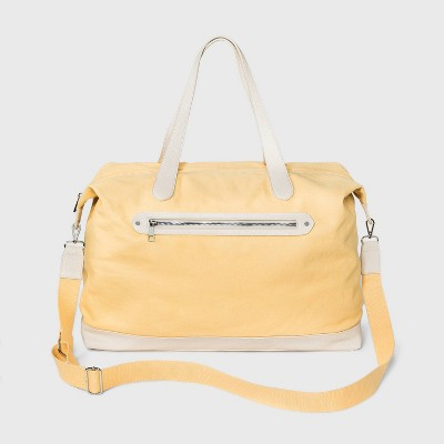 Zip Closure Weekender Bag - A New Day™ Yellow