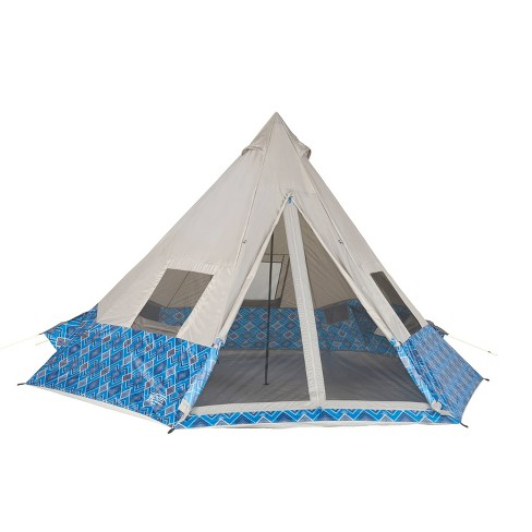 Camping Tents Wenzel 8 People Blue - image 1 of 7