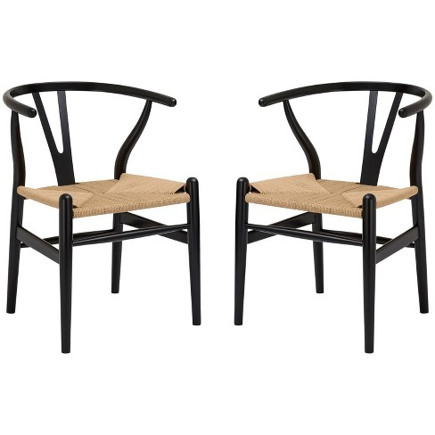 Set of 2 Dominic Mid Century Chair - Poly & Bark - image 1 of 4