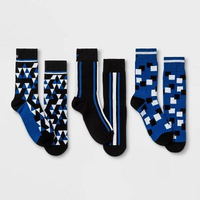 Pair of Thieves Men's Crew Socks 3pk - 8-12