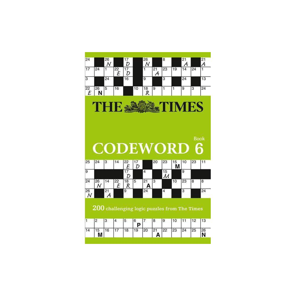 The Times Codeword 6 Paperback