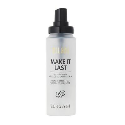 Milani Make It Last Prime + Correct + Set Makeup Setting Spray - 2.03oz