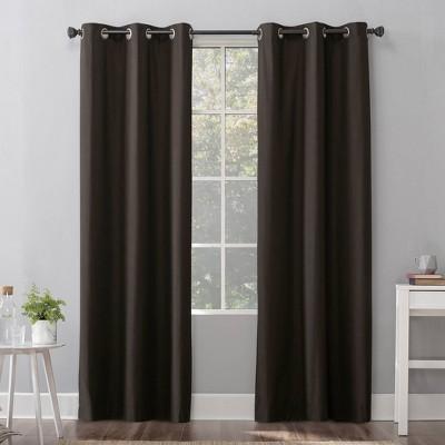 Cyrus Thermal Total Blackout Grommet Top Curtain Panel - Sun Zero