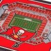NFL Tampa Bay Buccaneers 3D StadiumView Coasters - image 2 of 3