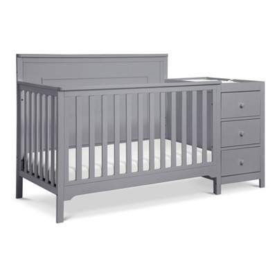 Carter's By Davinci Dakota 4-In-1 Crib And Changer Combo - Gray