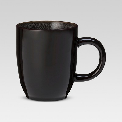 Belmont Reactive Round Stoneware Mug Set of 4 - Gray (16 oz)- Threshold™