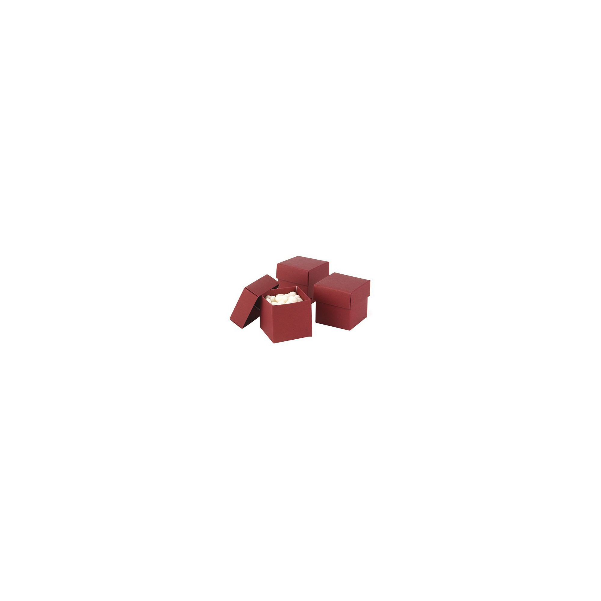 25ct Mix & Match Favor Boxes Red