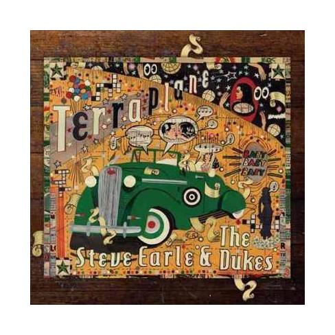 Steve Earle & The Dukes - Terraplane (CD) - image 1 of 2