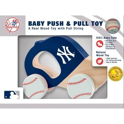 MLB New York Yankees Push Pull Baby Toy