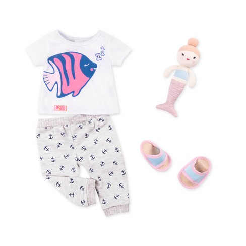 Our Generation Outfit Nautical Pajamas - image 1 of 3