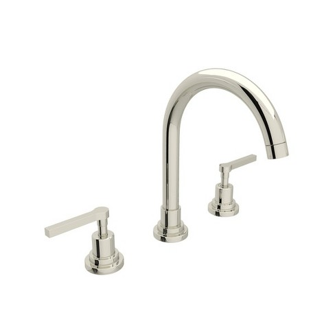 Rohl A2208LM-2 Lombardia 1.2 GPM Widespread Bathroom Faucet with Pop-Up Drain Assembly - image 1 of 1