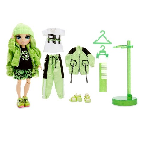 Rainbow High Jade Hunter – Green Fashion Doll with 2 Outfits - image 1 of 4
