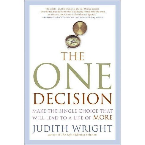 The One Decision - by  Judith Wright (Paperback) - image 1 of 1